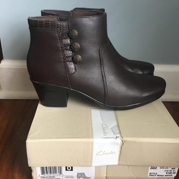 8b9eb0d22bf Clarks Shoes - Clarks Emslie Monet Women s Ankle Boots